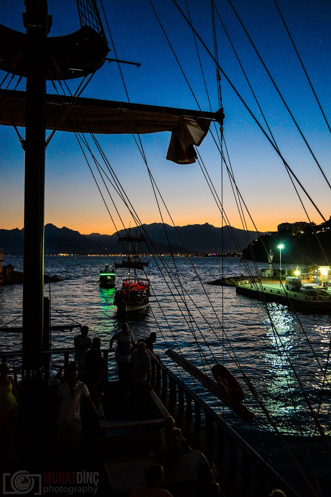 Antalya Kale İçi - Gece Yat Turu